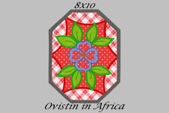 Red Floral Applique Placemat Sewing & Crafts Embroidery Design By Ovistin in Africa
