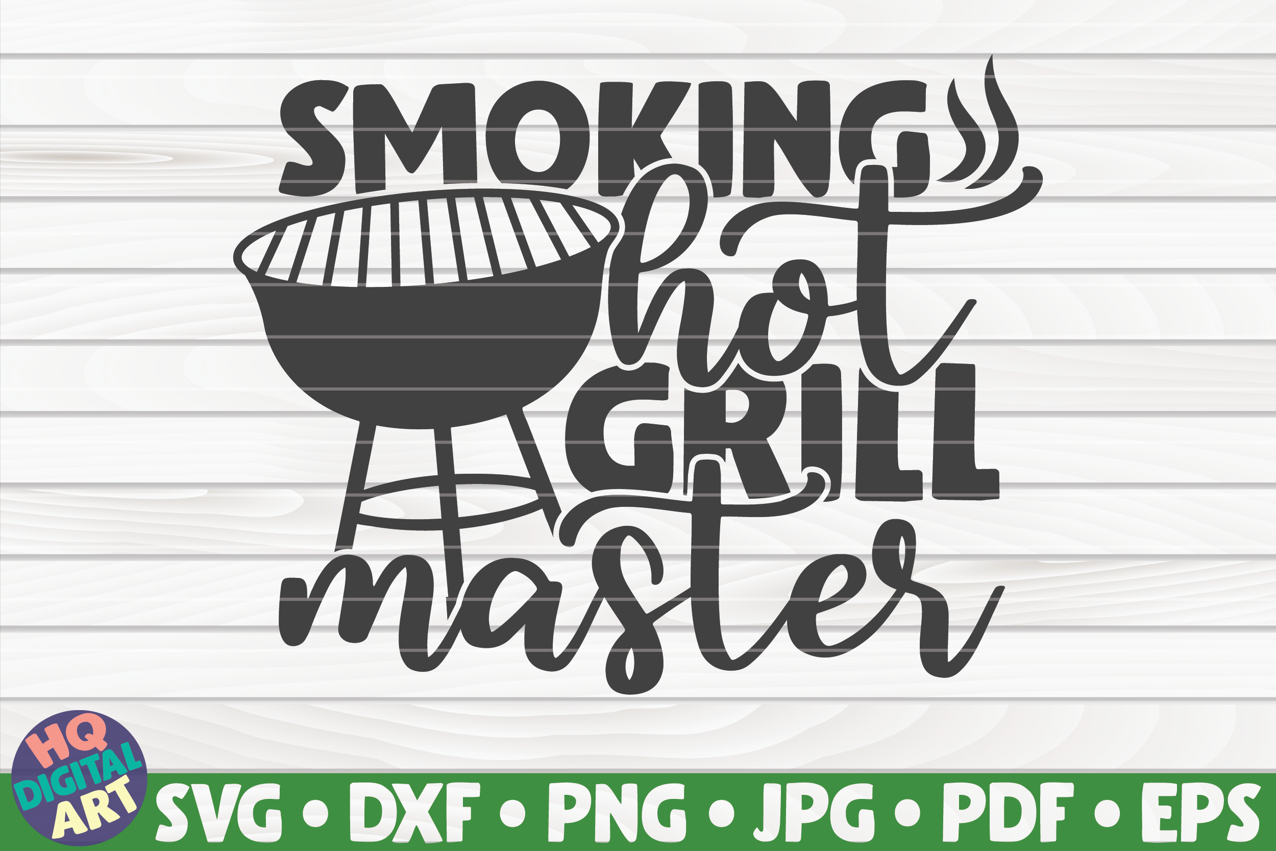 Download Free Smoking Hot Grill Master Graphic By Mihaibadea95 Creative Fabrica for Cricut Explore, Silhouette and other cutting machines.