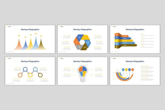 Download Free Start Up Powerpoint Template Graphic By Pradiptacreative for Cricut Explore, Silhouette and other cutting machines.