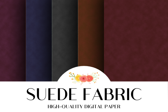Print on Demand: Suede Fabric Texture Background Graphic Textures By atlasart
