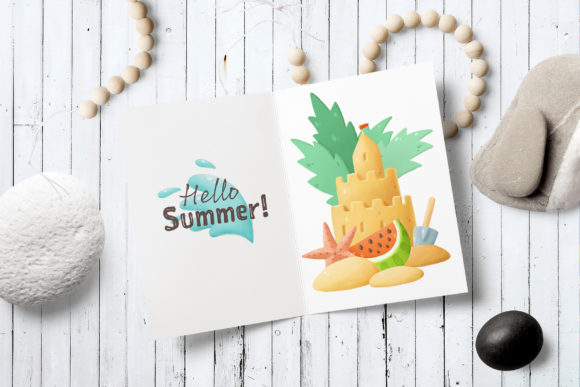 Print on Demand: Summer Clip Art Collection Graphic Illustrations By Architekt_AT - Image 4