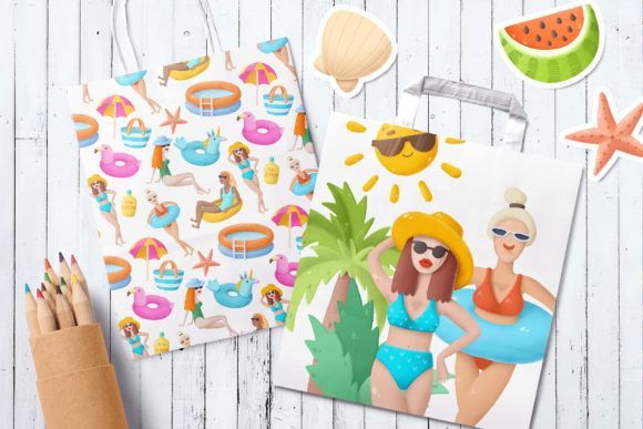 Print on Demand: Summer Clip Art Collection Graphic Illustrations By Architekt_AT - Image 5