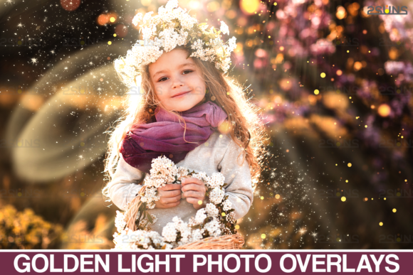 Sunlight Photo Overlays, Sunshine Dust Graphic Actions & Presets By 2SUNS