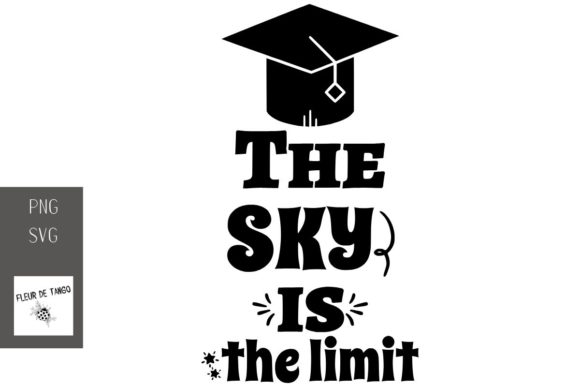 Download Free The Sky Is The Limit Graphic By Fleur De Tango Creative Fabrica for Cricut Explore, Silhouette and other cutting machines.