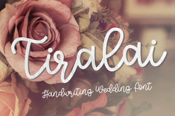 Print on Demand: Tiralai Script & Handwritten Font By meiimi