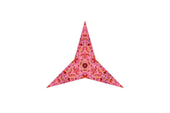 Download Free Triangular Star Graphic By Davidzydd Creative Fabrica for Cricut Explore, Silhouette and other cutting machines.
