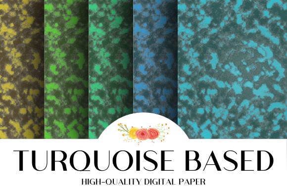 Download Free Turquoise Based Texture Graphic By Atlasart Creative Fabrica SVG Cut Files