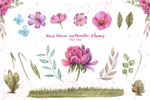 Print on Demand: Watercolor Day with Little Lambs Graphic Illustrations By tanatadesign - Image 4