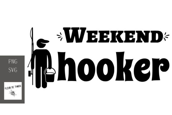Print on Demand: Weekend Hooker Graphic Print Templates By Fleur de Tango