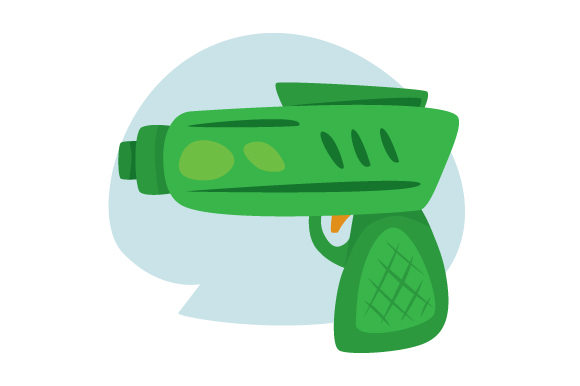 Download Free Toy Gun Svg Cut File By Creative Fabrica Crafts Creative Fabrica for Cricut Explore, Silhouette and other cutting machines.