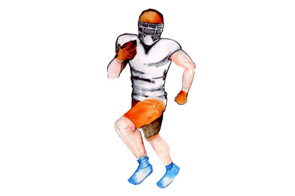 Download Free Football Player Running With Ball Svg Cut File By Creative for Cricut Explore, Silhouette and other cutting machines.