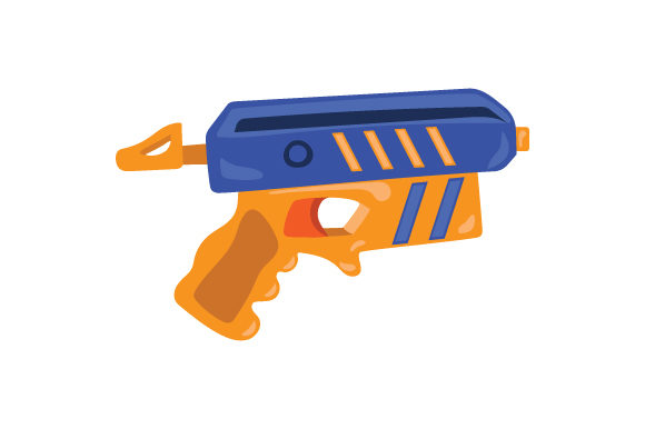 Toy Gun Kids Craft Cut File By Creative Fabrica Crafts
