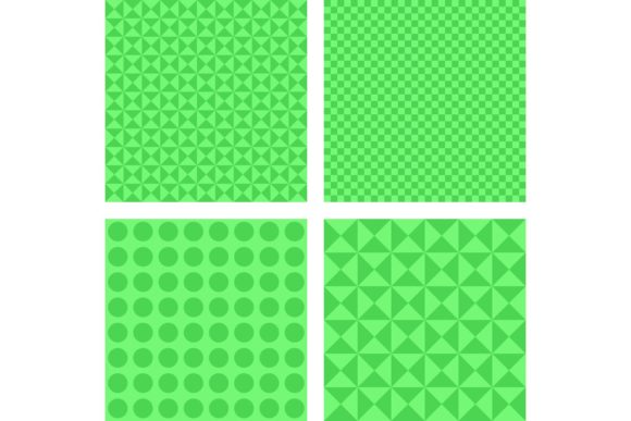 4 Simple Abstract Backgrounds Graphic Patterns By davidzydd