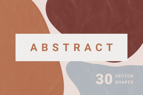 Abstract Vector Shapes Graphic Objects By Dmitry Mashkin