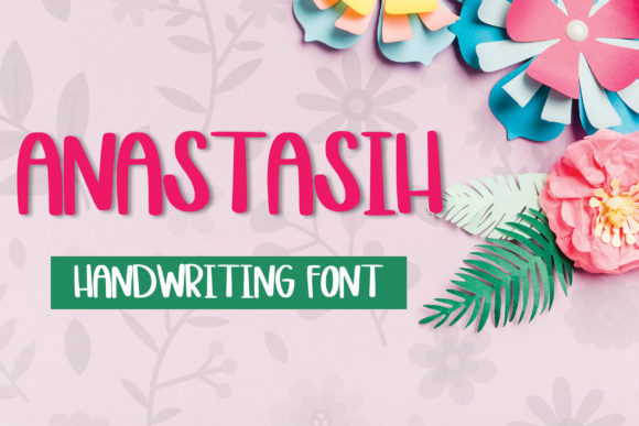 Print on Demand: Anastasih Script & Handwritten Font By meiimi