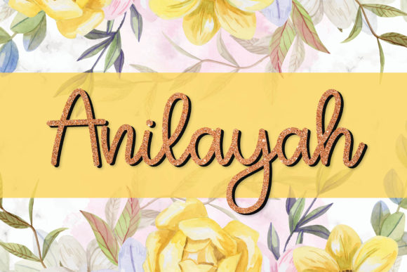 Print on Demand: Anilayah Script & Handwritten Font By meiimi
