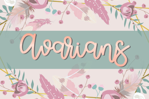 Print on Demand: Avarians Script & Handwritten Font By meiimi