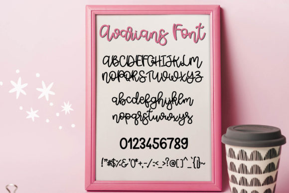 Download Free Avarians Font By Meiimi Creative Fabrica for Cricut Explore, Silhouette and other cutting machines.