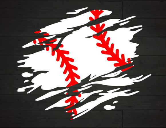 Download Free Baseball Distressed Torn Grunge Graphic By Nicetomeetyou for Cricut Explore, Silhouette and other cutting machines.