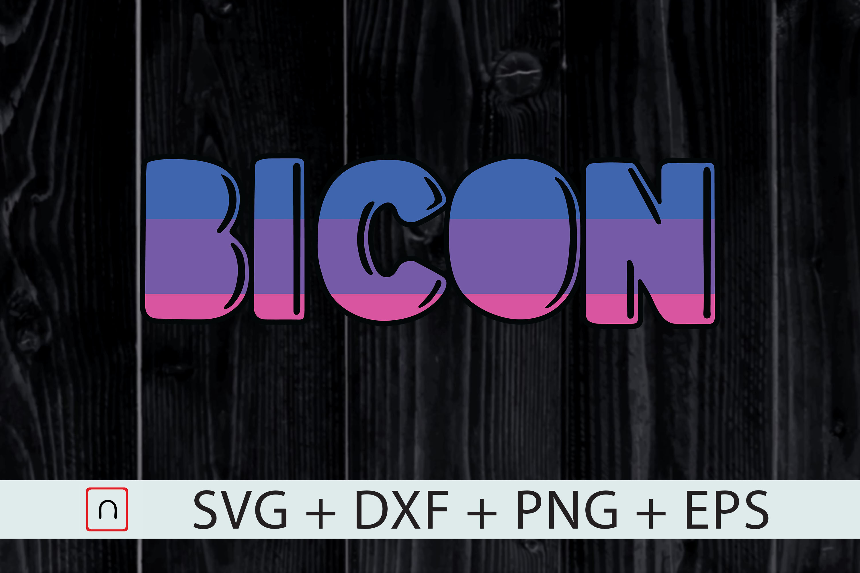 Download Free Bi Icon Lgbt Bi Pride Flag Graphic By Novalia Creative Fabrica for Cricut Explore, Silhouette and other cutting machines.