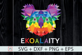 Download Free Ekoalaty Cute Koala Lgbt Rainbow Flag Graphic By Novalia for Cricut Explore, Silhouette and other cutting machines.