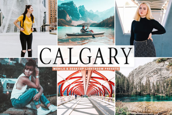 Print on Demand: Calgary Pro Lightroom Presets Pack Graphic Actions & Presets By Creative Tacos