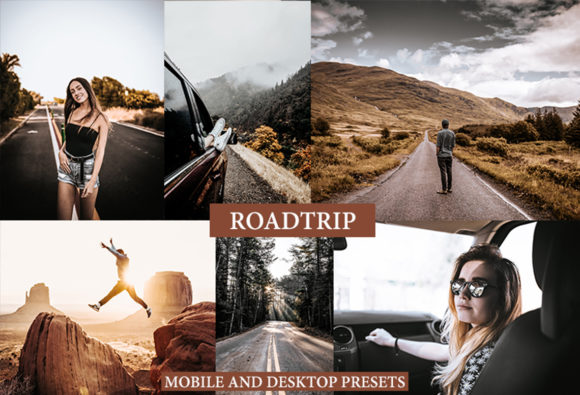 Cinematic Roadtrip Lightroom Presets Graphic Actions & Presets By Thiago Vibesp Creative