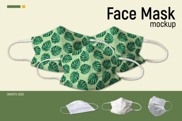 Face Mask Mockup  Graphic Product Mockups By gumacreative - Image 1