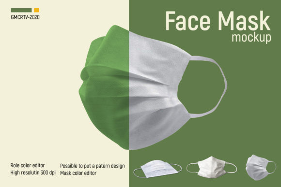 Face Mask Mockup  Graphic Product Mockups By gumacreative - Image 3