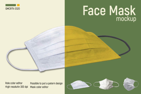 Face Mask Mockup  Graphic Product Mockups By gumacreative - Image 5