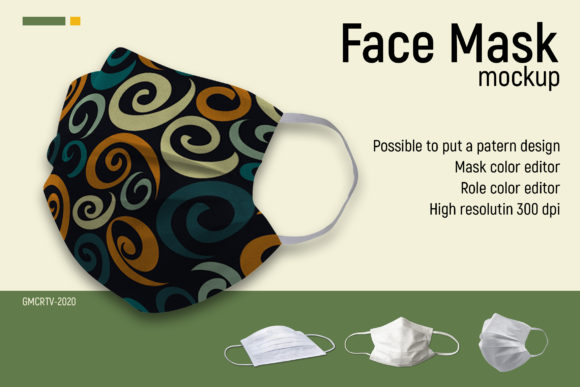 Face Mask Mockup  Graphic Product Mockups By gumacreative - Image 6