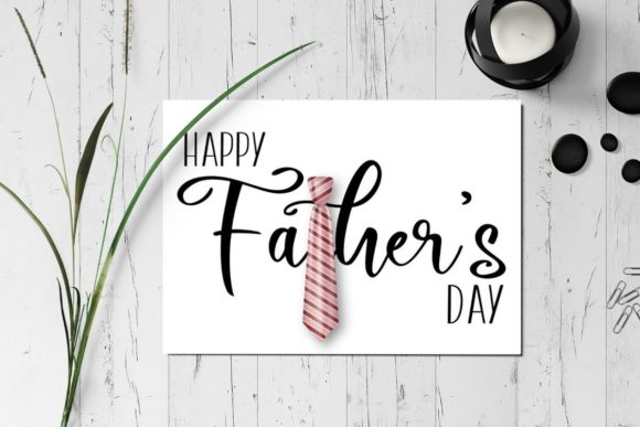Download Free Father S Day Printable Card Graphic By The Little Crafty Shop for Cricut Explore, Silhouette and other cutting machines.