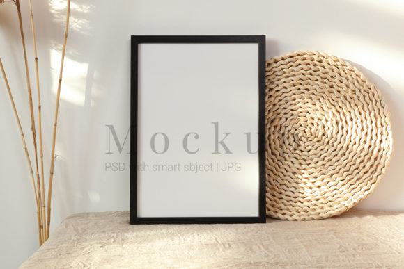 Print on Demand: Frame Mockup Smart Object Graphic Product Mockups By PawMockup