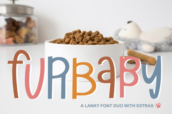 Print on Demand: Furbaby Script & Handwritten Font By browncowcreatives