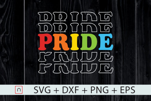 Download Free Gay Pride Lgbt Rainbow Graphic By Novalia Creative Fabrica for Cricut Explore, Silhouette and other cutting machines.
