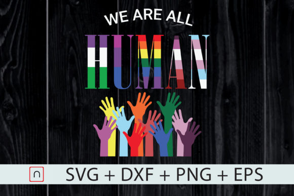 Human Flag Lgbt We Are All Human Graphic By Novalia Creative