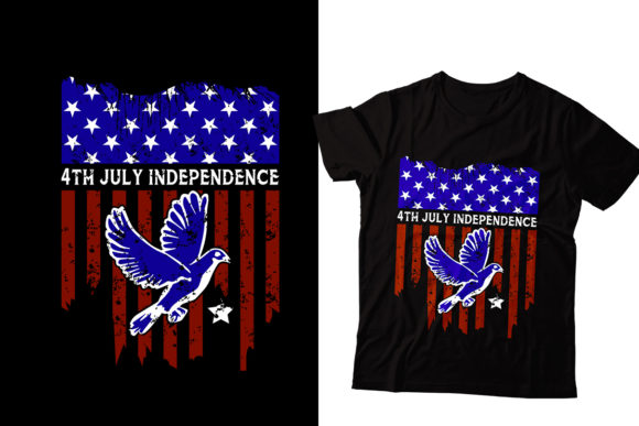 Independence 4th July T-Shirt Designs Graphic Print Templates By Storm Brain
