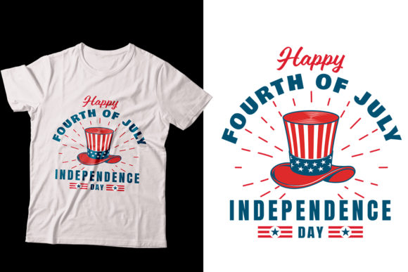 Download Free Independence 4th July T Shirt Designs Graphic By Storm Brain for Cricut Explore, Silhouette and other cutting machines.