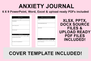 Print on Demand: KDP Interior - Anxiety Journal Graphic KDP Interiors By Bowes Publishing