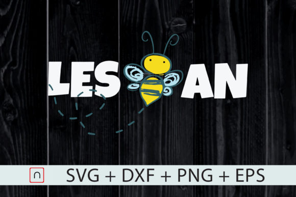Download Free Lgbt Les Bee Lesbeean Bee Lovers Graphic By Novalia Creative SVG Cut Files