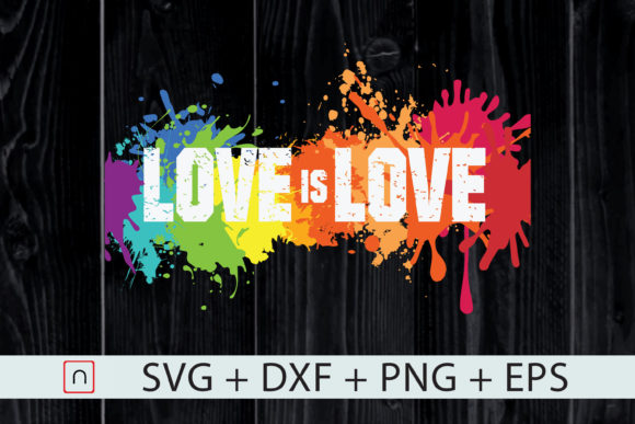 Download Free Love Is A Human Right Lgbt Pride Graphic By Novalia Creative for Cricut Explore, Silhouette and other cutting machines.