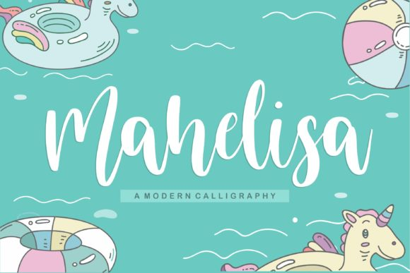 Print on Demand: Mahelisa Script & Handwritten Font By Balpirick
