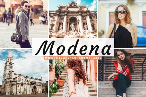 Print on Demand: Modena Lightroom Presets Pack Graphic Actions & Presets By Creative Tacos