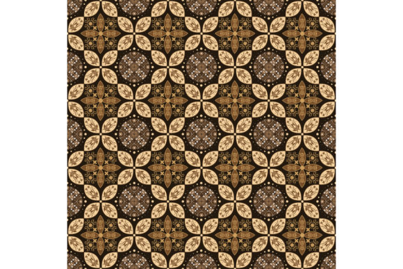 Modern Pattern on Javanese Batik Graphic Backgrounds By cityvector91