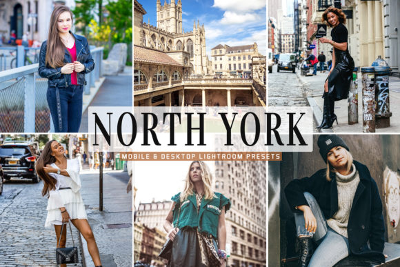 Print on Demand: North York Lightroom Presets Pack Graphic Actions & Presets By Creative Tacos