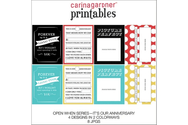 Download Free Open When Annuversary Graphic By Carina2 Creative Fabrica for Cricut Explore, Silhouette and other cutting machines.