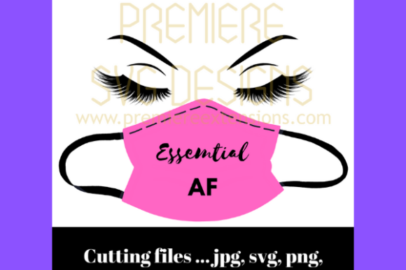 Pink Essential Af Files For Cricut Graphic By Premiereextensions