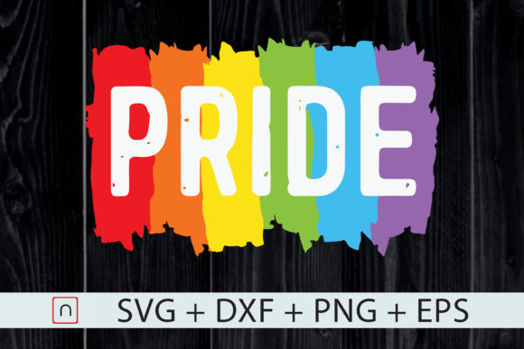 Download Free Pride Colors Lgbt Rainbow Graphic By Novalia Creative Fabrica for Cricut Explore, Silhouette and other cutting machines.