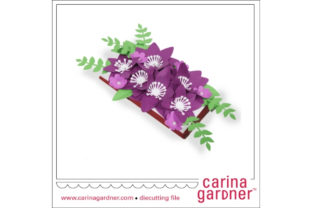 Purple Candy Bar Bouquet Graphic 3D SVG By carina2