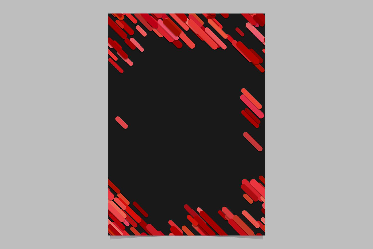 Download Free Red Brochure Background Graphic By Davidzydd Creative Fabrica for Cricut Explore, Silhouette and other cutting machines.